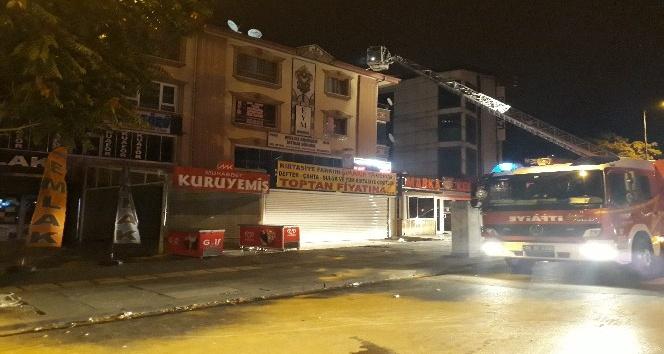 Ankara'da aynı zamanlı yangınlar korkuttu