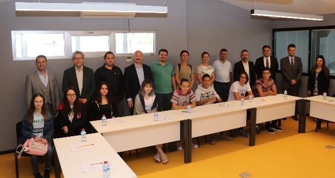 Çocuklar Mesleki Eğitim Beceri Testi 'nde ASOSEM'de bir araya geldi