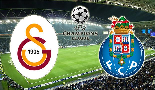 Galatasaray - Porto maçı ne süre, hangi kanalda, saat kaçta? Şampiyonlar ligi..