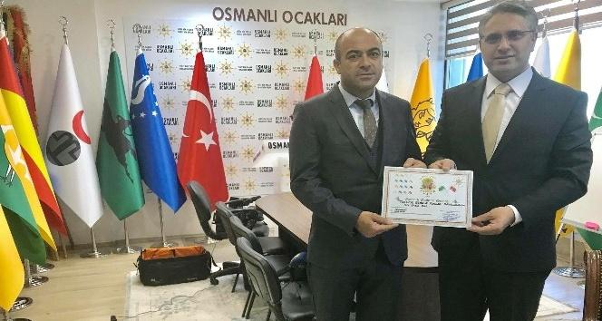 Osmanlı Ocakları Derneği Türkiye gençlik kolları başkanlığına Fazla Bal getirildi