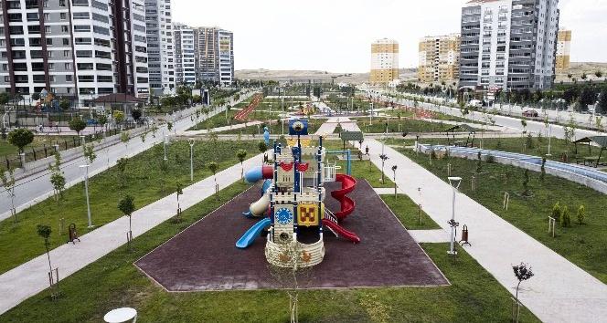 Soy Mahallesi'ne heybetli park