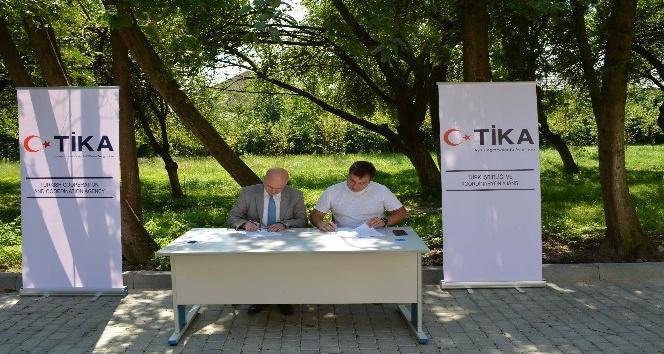 TİKA'dan Ukrayna'da engellilere ve gazilere destek