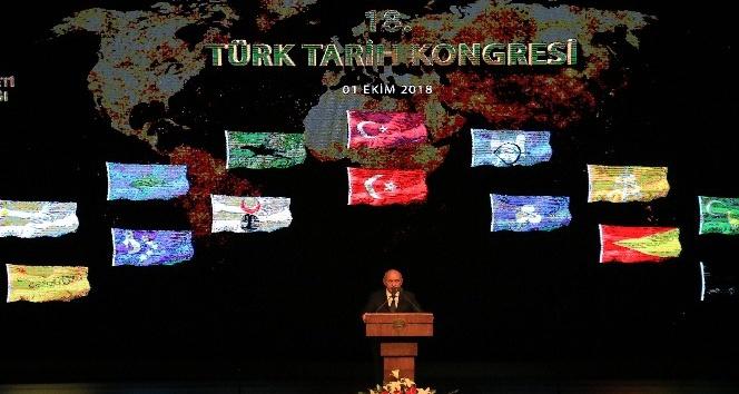 18. Türk Tarih Kongresi başladı