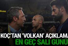 Ali Koç'tan Volkan Demirel açıklaması! Özür dilerse...