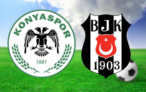 Beşiktaş, Konya deplasmanında: Birincil 11'ler belli oldu!