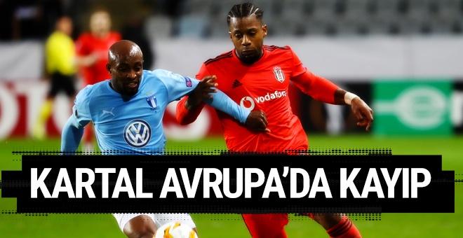 Malmö - Beşiktaş maçı golleri ve geniş özeti