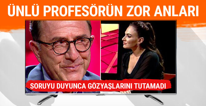 Osman Müftüoğlu'nu ağlatan soru