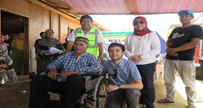 TİKA'dan Filipinler'de ihtiyar ve engellilere destek