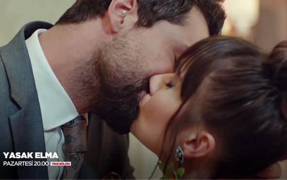 Yasaklanmış Elma dizisinin 17'nci yeni bölüm tanıtımı yayınlandı! Zeynep ile Alihan dudak dudağa