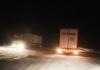 Kar nedeniyle araçlar mahsur kaldı