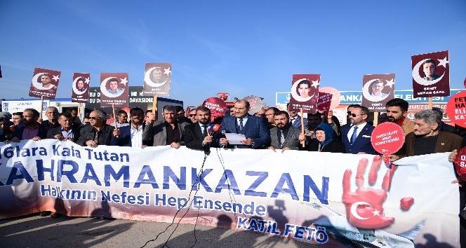 Şehit yakınları ve gazilerden Kahramankazan Belediye Başkanı Ertürk'e destek