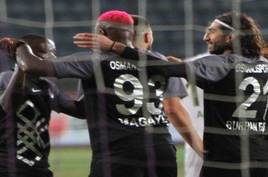 Spor Toto 1. Lig: Osmanlıspor: 1 - İstanbulspor: 0